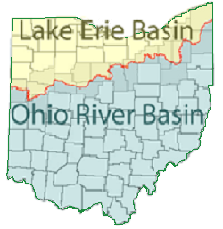 Ohio watersheds